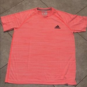 Adidas ultimate Tee size L orange